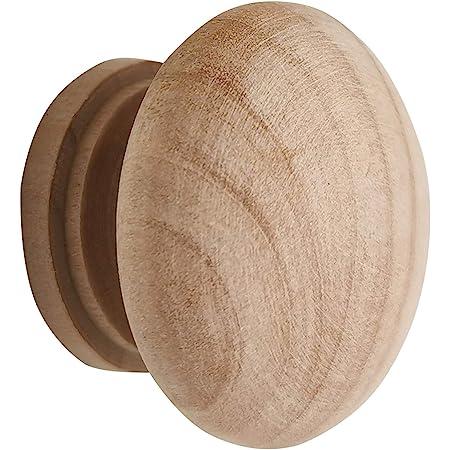 Kitchen Cabinets Furniture Dresser Wardrobe Cupboard Drawer Knobs Pulls Handles Pack of 15 WEICHUAN 1-1//2 Unfinished Wood Ball Drawer Knobs Pulls Handles