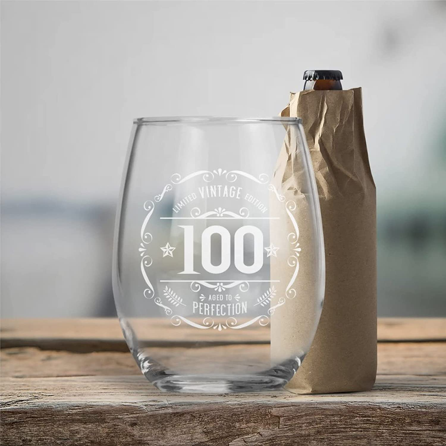Limited Vintage Edition 100 Age Crystal Perfection Stemless Deluxe price W to