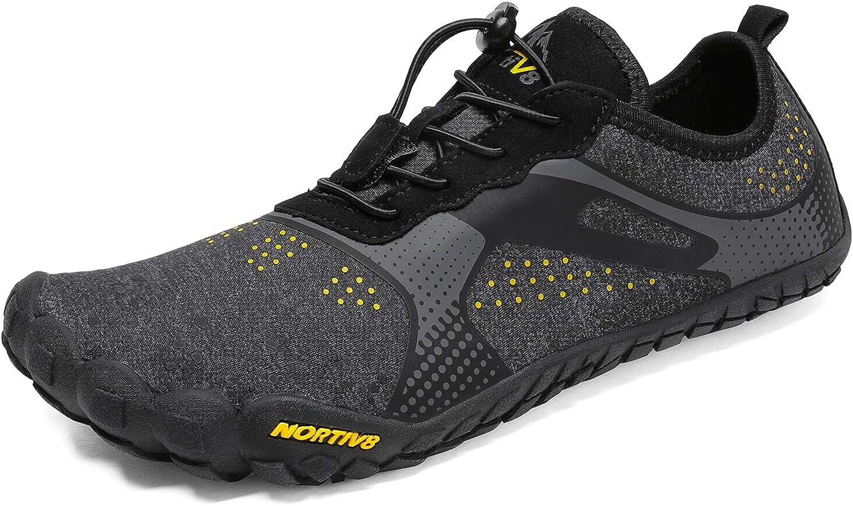 NORTIV 8 Men's Barefoot Water Shoes Lightweight Sports Aqua Shoes