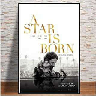 Poster A Star Is Born Love Movie Bradley Cooper Lady Gaga Canvas Schilderij Art Wall Pictures Poster En Prints Woonkamer H...