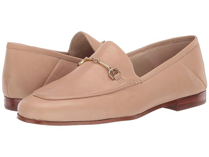 Sam Edelman  Loraine Loafer (Classic Nude Modena Calf Leather 1) Womens Dress Sandals
