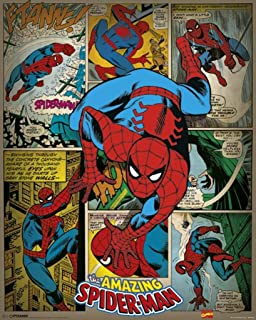 Pyramid International Spider-man Retro Marvel Comics Mini Poster,