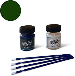 ScratchesHappen Exact-Match Touch Up Paint Kit Compatible with Infiniti Hunter Green (DT2) - Essential