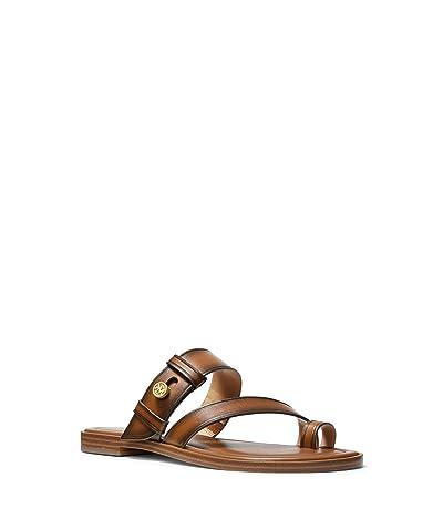 MICHAEL Michael Kors Brayden Flat Sandal (Luggage) Women