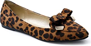 Best wide width leopard flats Reviews