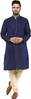مجموعة منامة كورتا من الحرير للرجال من SKAVIJ