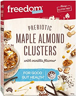 Freedom Foods Maple Almond Clusters, 360g