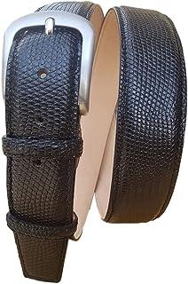 ESPERANTO Cintura in Iguana altezza 4 cm, 4 varianti Colore