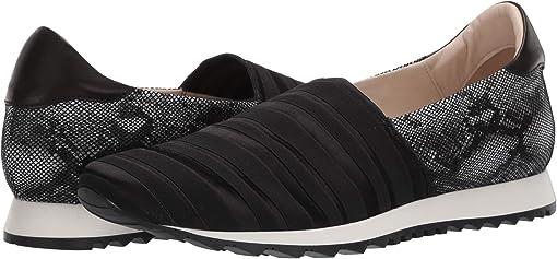 Black Ellex Fabric/Black VIP Pearl/Black Parm