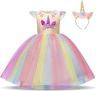 743793c74abd8 Amazon.fr   Jaune - Robes   Fille   Vêtements