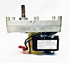 fireplace repl parts (New Part) Magnum Countryside Queen Ann Leg Unit Auger Feed Motor, 904 MF3573, PH-CCW4 / firs for Many Models, Check in Description + (one Free Author's Book)