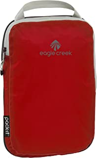 Eagle Creek Ultra-Light Solution Pack-It Specter Compression Half Cube Organizer For Suitcases, Packing Organiser, 26 cm,3 L, Volcano Red