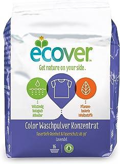 Ecover - Detergente concentrado para ropa de color ecológico, lavanda, 4 unidades (4