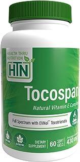 Tocospan Vitamina-E (contiene Tocotrienoles EVNOL™) Complejo