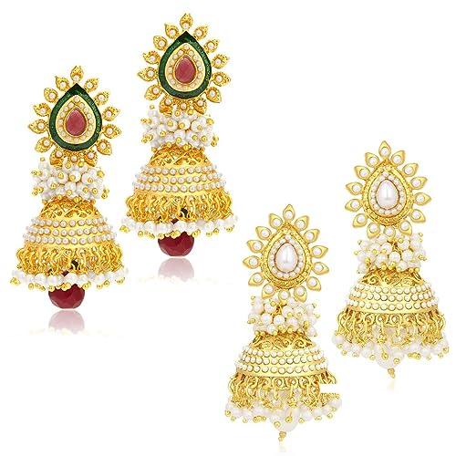 a351893e5 1 Gram Gold Earrings: Buy 1 Gram Gold Earrings Online at Best Prices ...