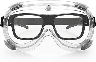 保護メガネ 安全メガネ 花粉 メガネ 曇らない 保護めがね 軽量 防曇 ゴーグル防護 防塵 花粉症 汚染対策 肌に優しい 透明 飛沫感染予防 花粉防止メガネ メンズ レディース
