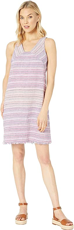 Micronesia Stripe Shift Dress