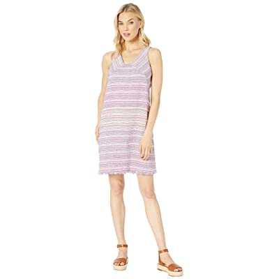 Tommy Bahama Micronesia Stripe Shift Dress (Pink Melon) Women