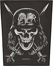 Slayer Men's Wehrmacht Back Patch Black