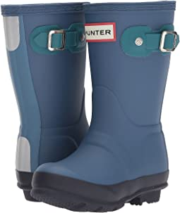 Hunter Kids - Original Contrast Sole Rain Boots (Toddler/Little Kid)