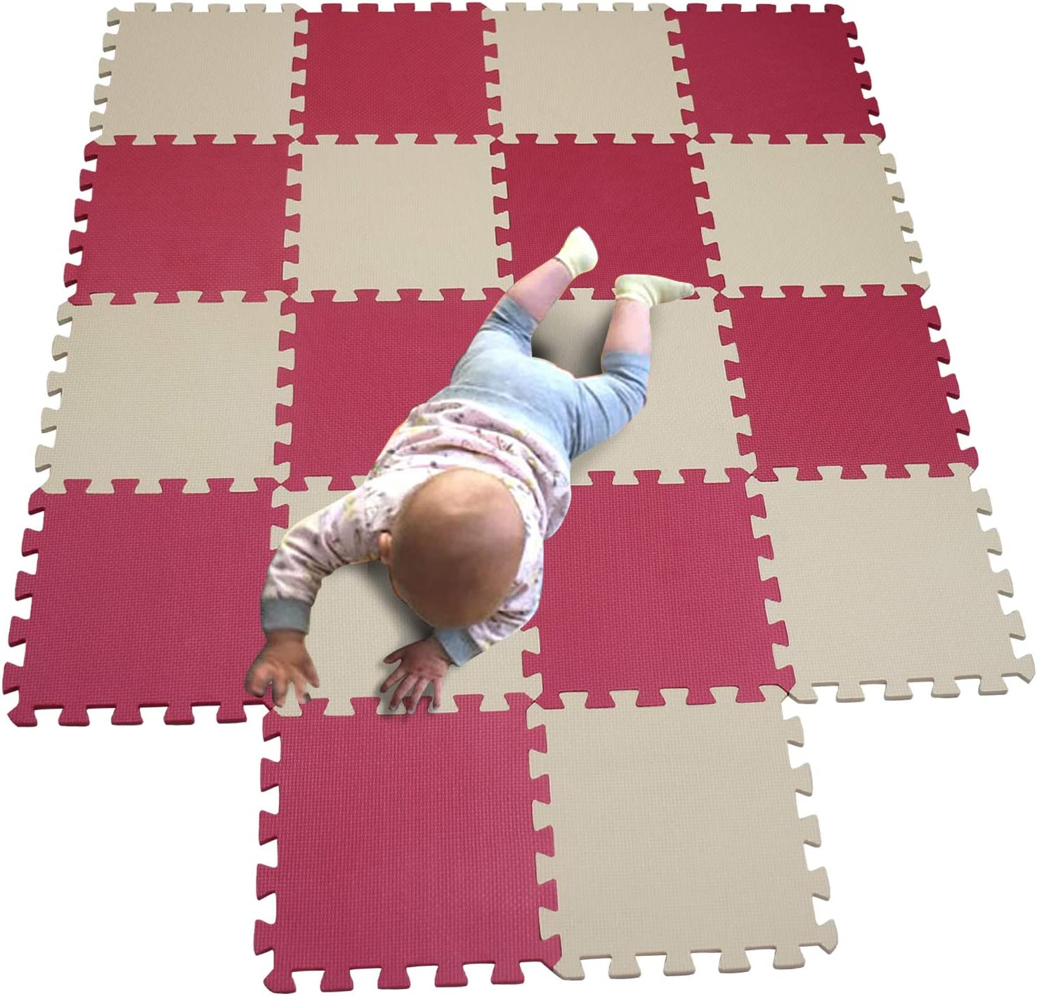 MQIAOHAM Direct sale of manufacturer Children Puzzle Max 87% OFF mat Play Squares Bab Tiles