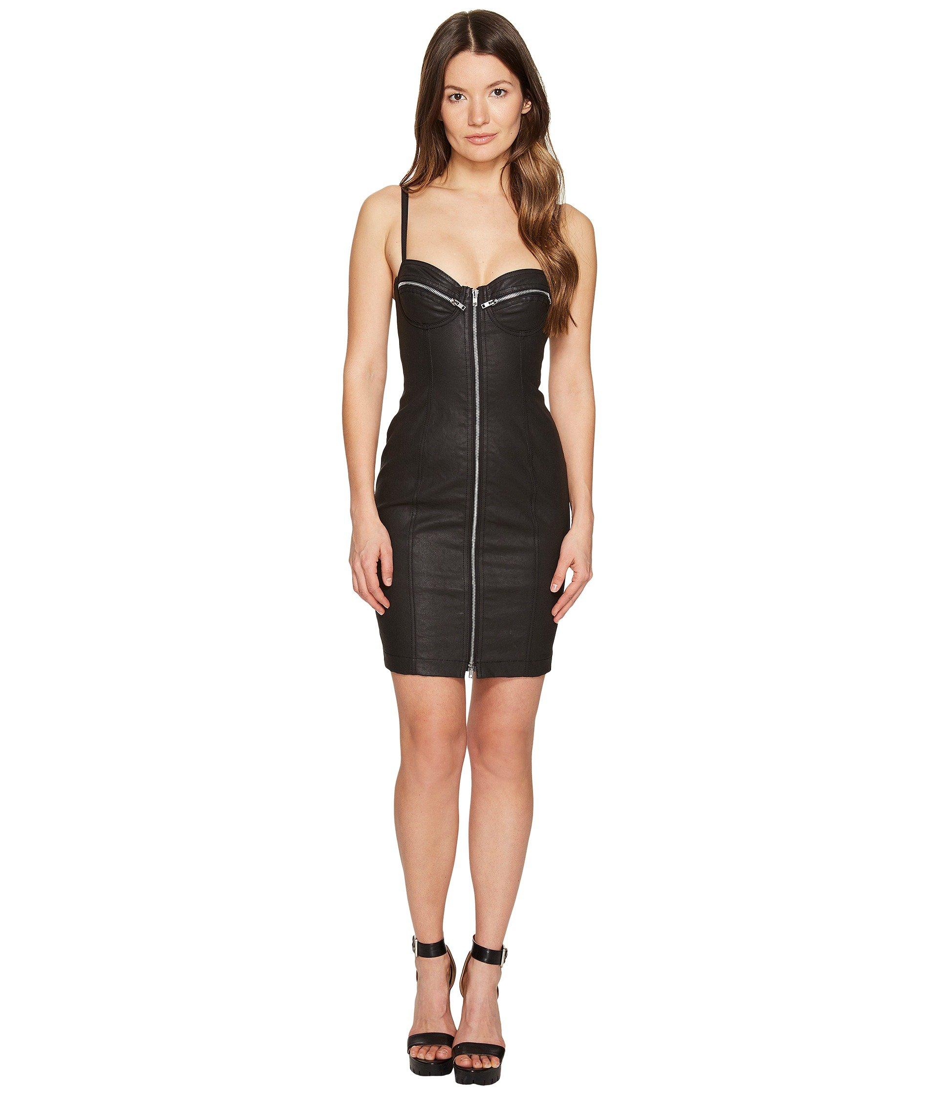 Checkered Zip Dress