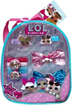 L.O.L Surprise 11 Pieces Mini Backpack Complete Hair Accessories For Girls(+3 years)