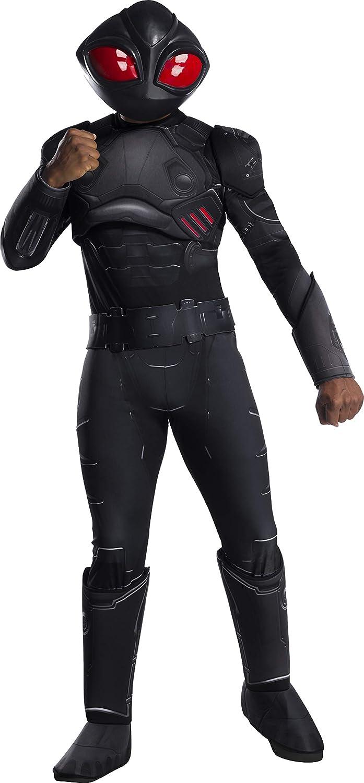 DC Aquaman Movie Deluxe Black Manta Adult Costume  XLarge