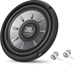 """JBL Stage 810 800W Max 8"""" Stage Series Single 4 ohm Car Audio Subwoofer Speaker Bundled with Alphasonik Earbuds photo"""