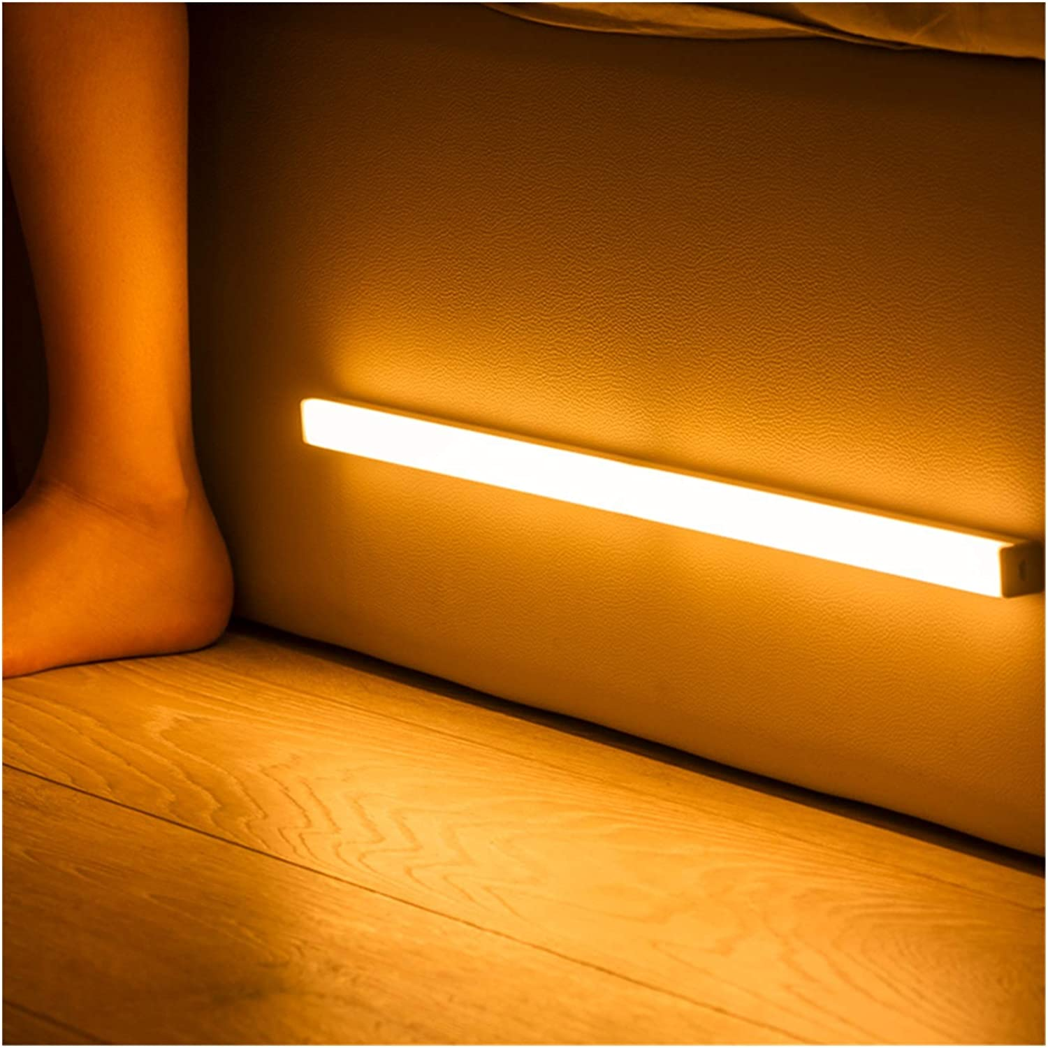 ZLMAY LED Night Max 69% OFF Light Motion Wireless 40 Rechargeable Free Shipping New 20 USB 30