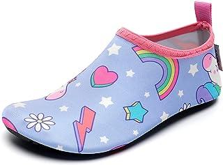 Kids Water Swim Shoes Barefoot Aqua Socks Shoes Quick Dry...