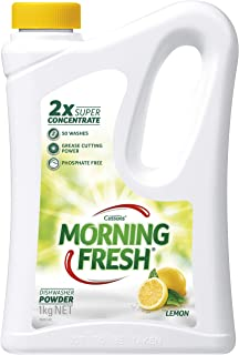 Morning Fresh Lemon Dishwasher Powder, Lemon 1 kilograms