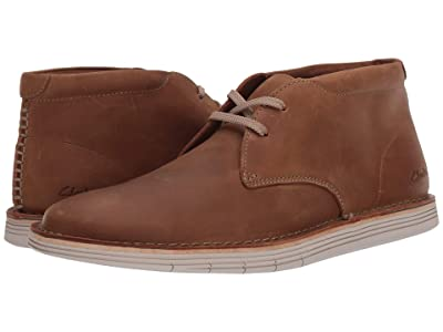Clarks Forge Stride (Tan Leather) Men