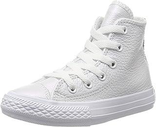 Pasivo enchufe Interactuar  Amazon.es: Converse - Piel / Zapatos para niña / Zapatos: Zapatos y  complementos