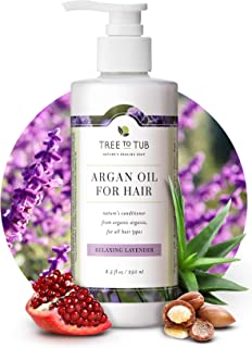 Lavender Sulfate Free Conditioner for Sensitive Skin by Tree to Tub - Natural Conditioner 8.5 oz