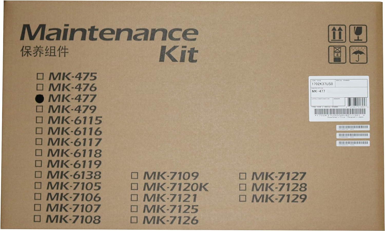 Kyocera 1702K37US0 Model MK-477 Maintenance Kit For use with Kyocera/Copystar CS-255, CS-305, FS-6525MFP, FS-6530MFP, TASKalfa 255 and 305 Multifunctional Printers