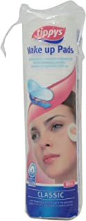 Tippys Make Up Pads Classic 80 Pcs, Pack of 1