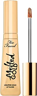 Best too faced melted gold lip gloss Reviews