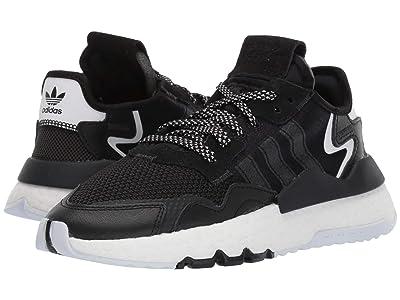 adidas Originals Kids Nite Jogger (Big Kid) (Black/Carbon) Boy