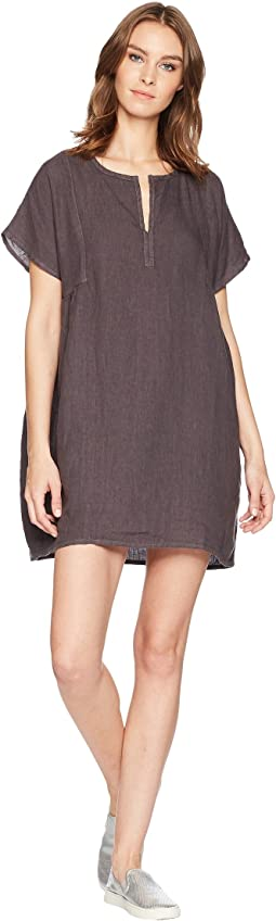 Solid Boxy Pullover Dress