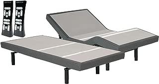 leggett & platt S-Cape Split King 2.0 Adjustable Wireless Wall Hugger Bed Base