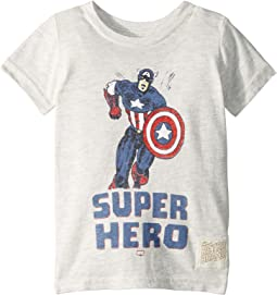 Vintage Tri-Blend Super Hero Tee (Toddler)