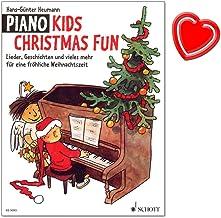 Piano Kids Christmas Fun – Lieder, historier och mycket mer för en glad jul – ett urval av vackra gamla och moderna julreg...