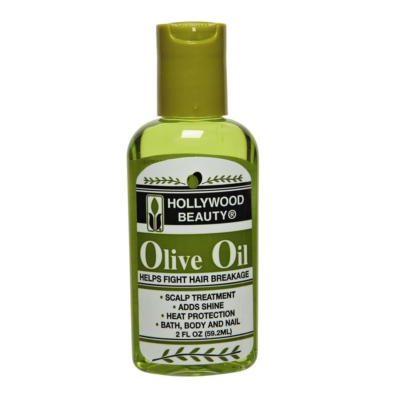 冷笑する公関連するHollywood Beauty オリーブオイル、1ポンド 1パック