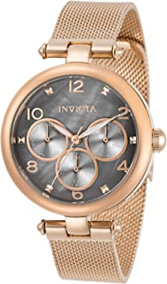 Invicta Women's Angel Quartz Watch with Stainless Steel Strap, Rose Gold, 36 (Model: 31529)