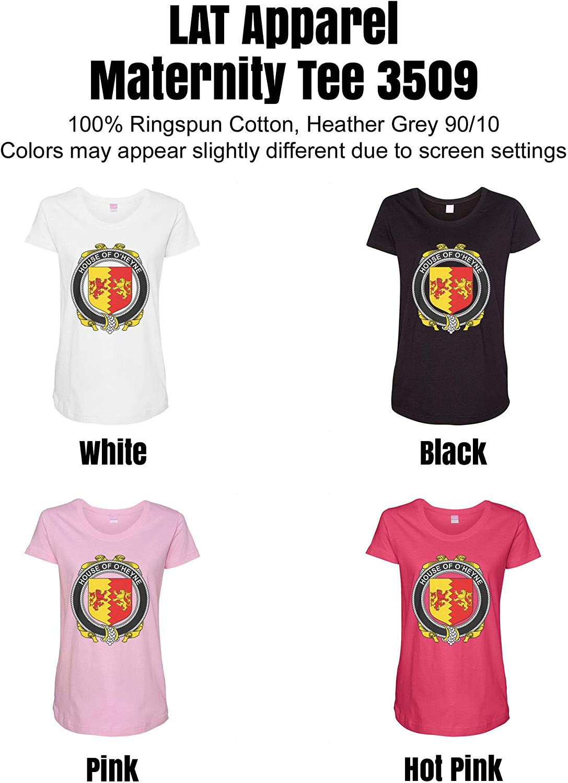HARD EDGE DESIGN Women's Irish House Heraldry O'Heyne T-Shirt