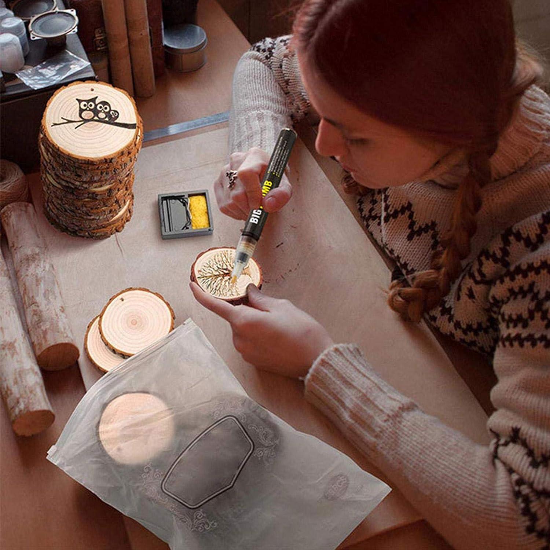herramienta de reemplazo de hierro para quemar madera Herramienta de quemador de madera de punta fina bol/ígrafo de quema de madera qu/ímico para pintura de madera de bricolaje Rotulador de le/ña