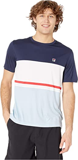 Heritage Tennis Color Block Crew