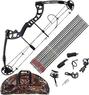 Ourpgone Compound Arch Barrel Mount Holder per mirino Laser e Torcia elettrica Torcia Night Hunter Tiro con LArco Sparare a Bersaglio Caccia alla Notte Nuovo XFC-BAZI Colore : Nero
