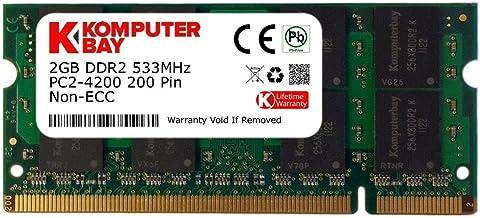 2GB RAM Memory for HP Compatible Mini Notebook 210-1118tu MemoryMasters Memory Module DDR2 SO-DIMM 200pin PC2-6400 800MHz Upgrade